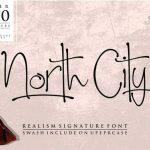 North City Script Font