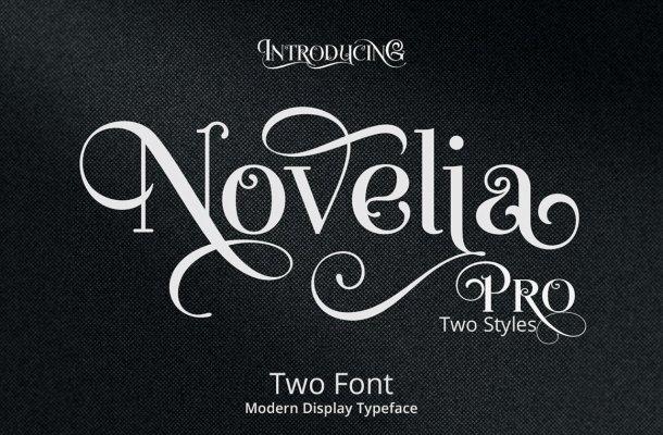 Novelia Pro Typeface