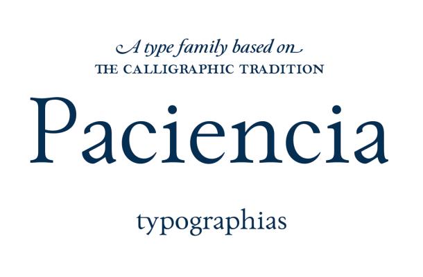 Paciencia Font Family