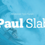 Paul Slab Font Family