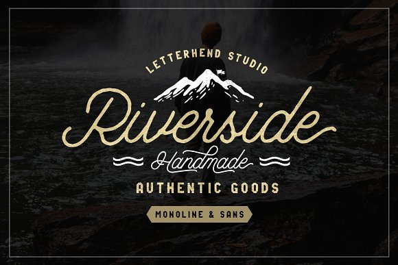 Riverside Font Duo