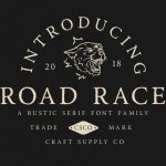 Road Race Typeface