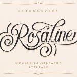 Rosaline Script Font
