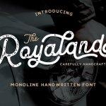 Royaland Script Font