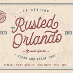Rusted Orlando Font Family