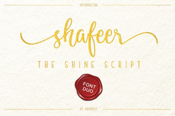 Shafeer Font Duo