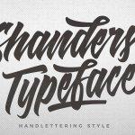 Shanders Script Font