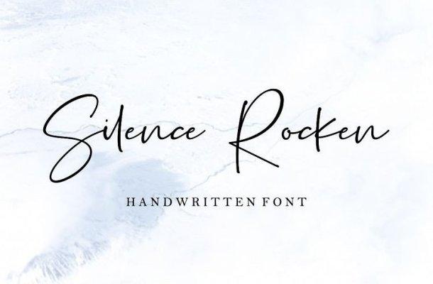 Silence Rocken Handwritten Font