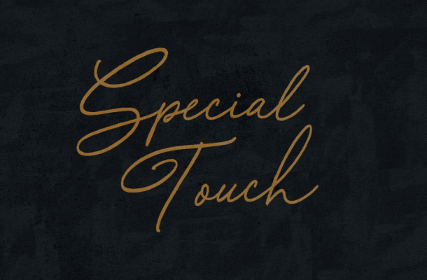 Special Touch Script Font