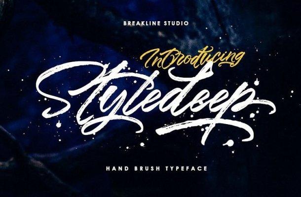 Styledeep Brush Font