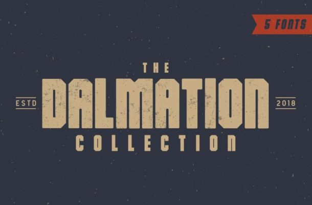 The Dalmation Typeface