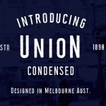 Union Condensed Typeface