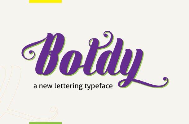 Boldy Font