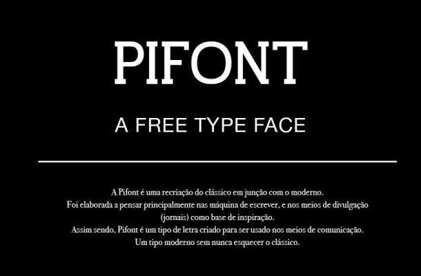 Pifont Font