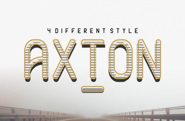 AXTON Typeface