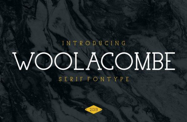 Woolacombe Typeface