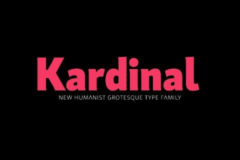 Kardinal Font Family