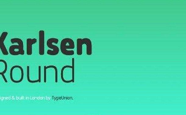 Karlsen Round Font