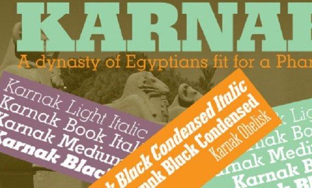 Karnak Pro Font
