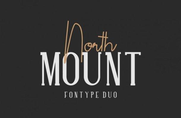 North Mount Font Trio