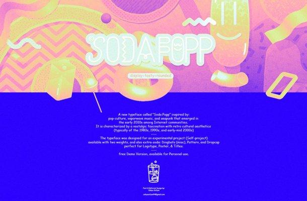 SODA POPP Font