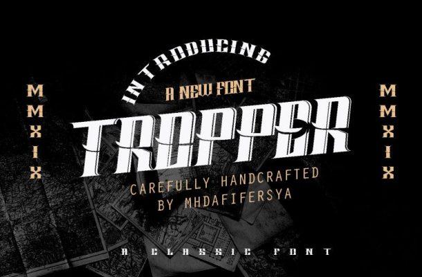 Tropper Typeface