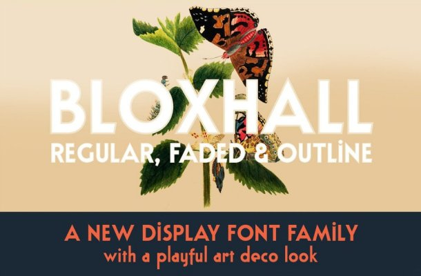 Bloxhall Display Font