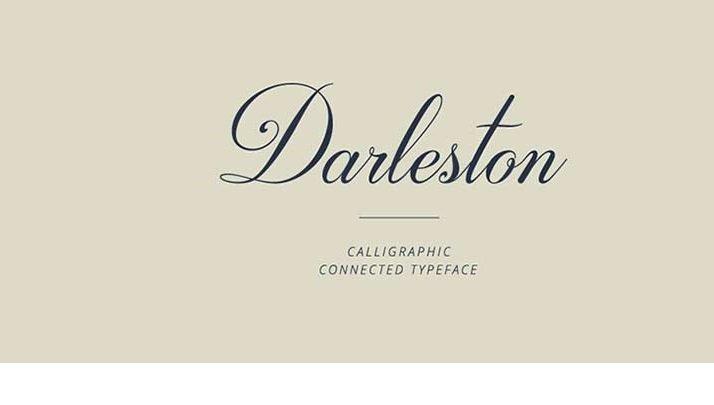 Darleston Font - All Free Fonts