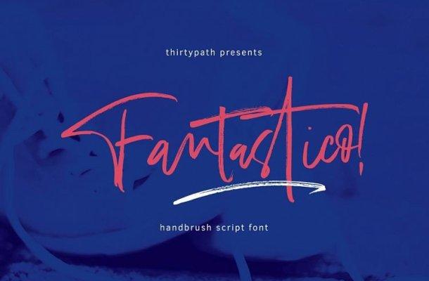 Fantastico Handbrush Font