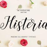 Histeria Script Font