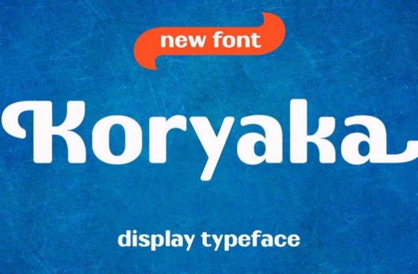 Koryaka Typeface
