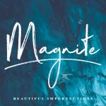 Magnite Brush Font