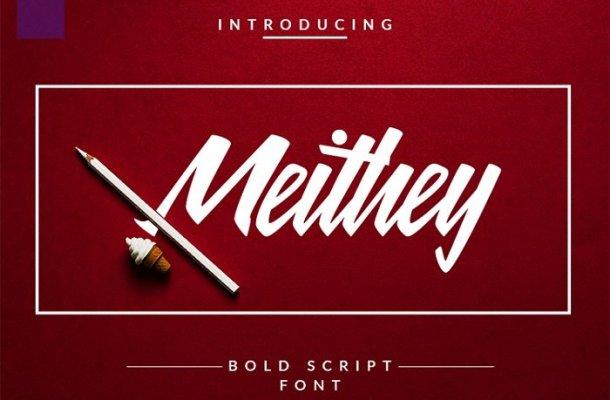 Meithey Bold Script Font