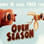 Open Season Font