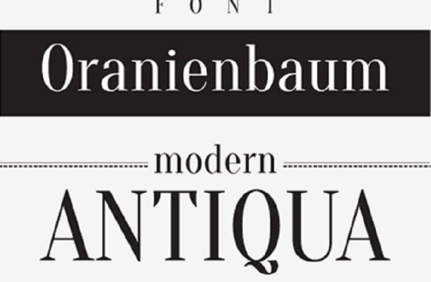 Oranienbaum Serif Font