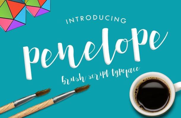 Penelope Brush Font