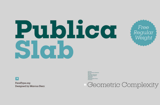Publica Slab Font Family