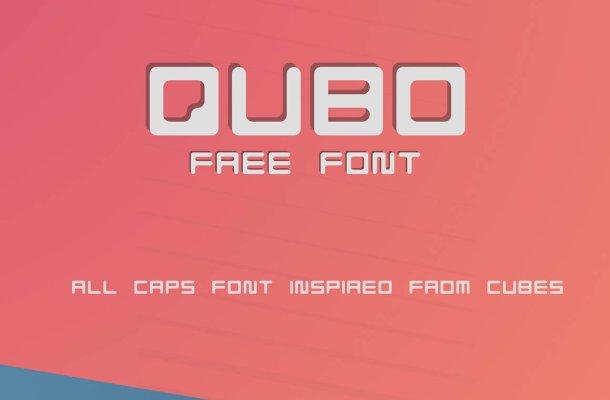 QUBO Regular Font