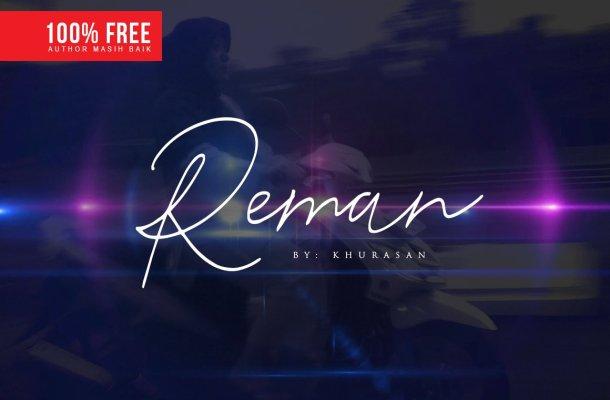Reman Script Font