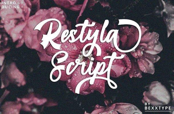 Restyla Script Font