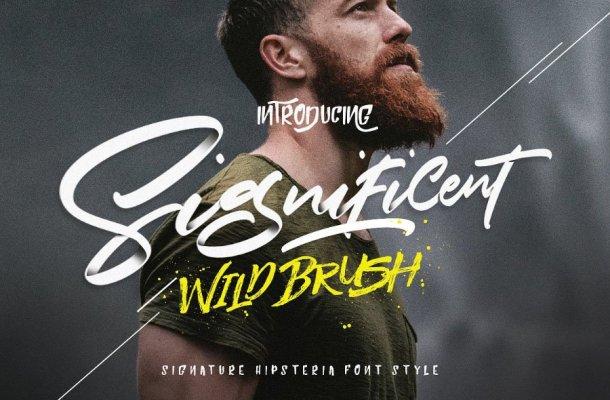 Significent Script Font