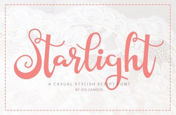 Starlight Script Font