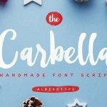 The Carbella Script Font