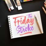 The Friday Stroke Brush Font