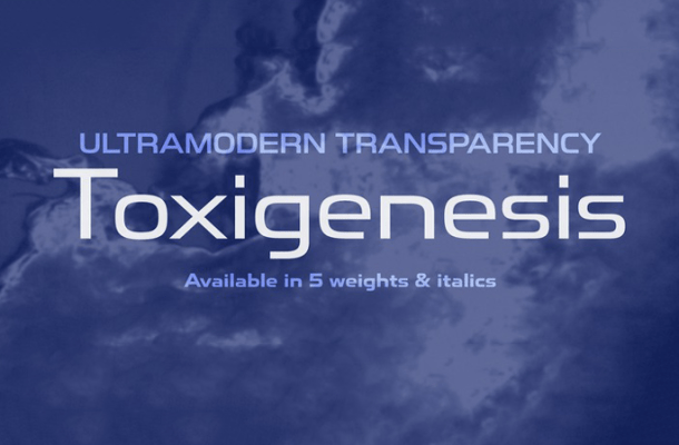 Toxigenesis Font Family