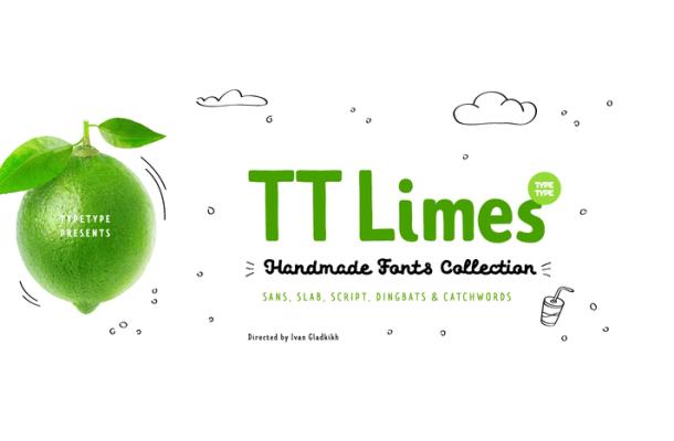 TT Limes Slab Regular Font