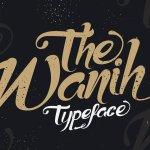 Wanih Script Font