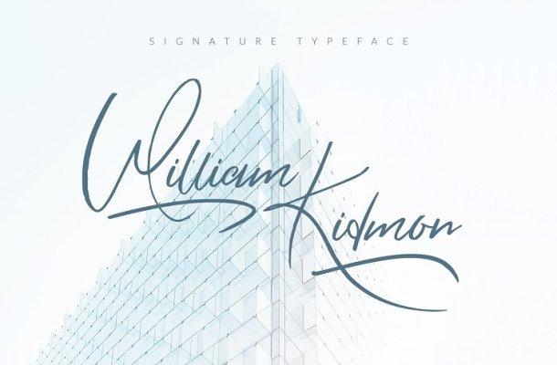 William Kidmon Script Font