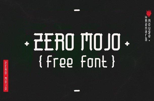 Zero Mojo Font