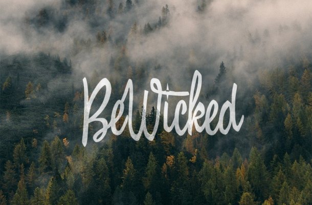 BeWicked Font